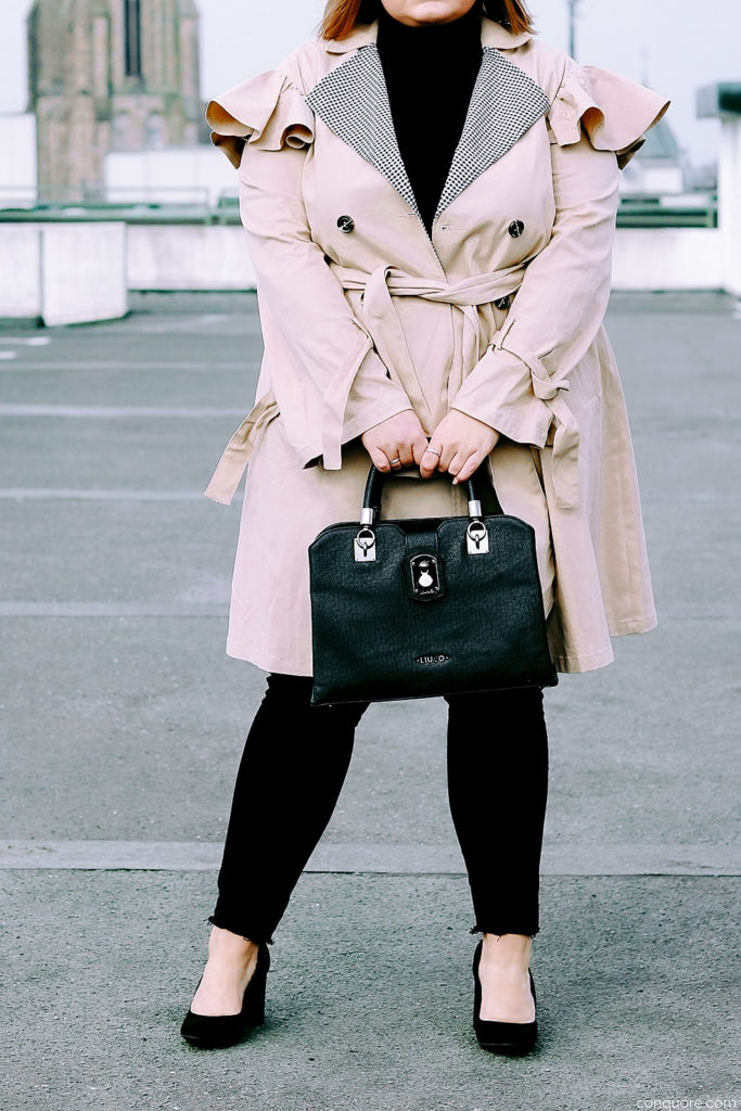 elabonbonella plus size expert blog skinny jeans in großen größen hm treggings